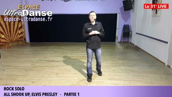 Cours de danse en direct live